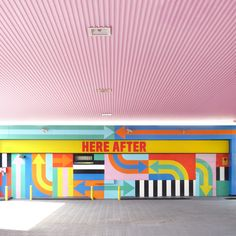 Petrol station, London.  (By Craig & Karl)