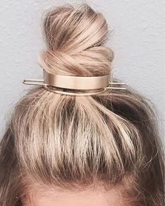 bun cuff 2018 hairstyle trend