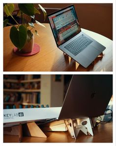 Laptop Stand, Ipad Stand, Tablet Stand, Digital Nomad, Home Studio, Electronic Music, Ipad Pro, Macbook Pro, Minimal