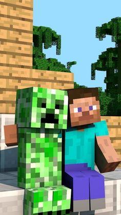 Steve Minecraft, Mobs Minecraft, Minecraft Posters, Minecraft Video Games, Minecraft Pictures, Hama Beads Minecraft, Minecraft Stuff, Wallpaper Minecraft, Herobrine Wallpaper