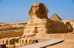 """The Great Sphinx of Giza """" أبو الهول Abū al Hūl """" that stands on the Giza Plateau on the west bank of the Nile in Giza, Egypt. Giza Egypt, Pyramids Of Giza, Egypt Art, Sharm El Sheikh, Luxor, Hans Christian Anderson, Buckingham Palace, Monte Rushmore, Le Sphinx"""