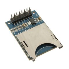 10Pcs Slot Socket Reader SD Card Module For Mp3 Arduino Compatible  Worldwide delivery. Original best quality product for 70% of it's real price. Buying this product is extra profitable, because we have good production source. 1 day products dispatch from warehouse. Fast & reliable...