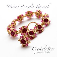 Tsarina Bracelet Tutorial by Crystalstargems on Etsy