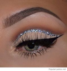 Make Up; Look; Make Up Looks; Make Up Augen; Make Up Prom;Make Up Face; Makeup Eye Looks, Cute Makeup, Beauty Makeup, Hair Makeup, Beauty Skin, Awesome Makeup, Prom Eye Makeup, Angel Makeup, Face Beauty