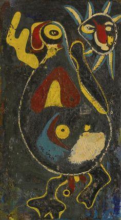 'Personnage - oiseau et soleil' (1936) by Joan Miró