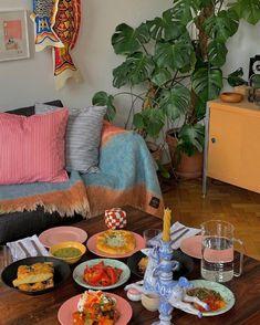 Living Room Flooring, Dining Room Walls, Interior Inspiration, Room Inspiration, Indoor Picnic, Dream Decor, Decoration, Sweet Home, House Design