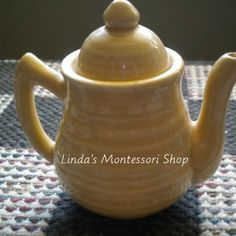 Montessori Practical Life, Teapots