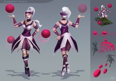 Dodgeball Syndra by VegaColors on deviantART