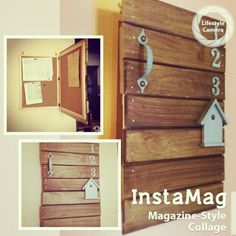すぐ溜まってしまう、プリントの収納術 | RoomClip mag | 暮らしとインテリアのwebマガジン Diy Interior, Interior Design, Daiso, Windows And Doors, Home Organization, Storage Spaces, Diy Furniture, Diy And Crafts, House Plans
