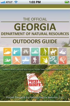 Embrace the outdoors with the official guide to Georgia's (and more) State Parks, Historic Sites & Wildlife Resources with this FREE mobile app