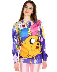 ADVENTURE TIME SWEATER - PREORDER at Shop Jeen - SHOP JEEN