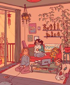 a warm home!