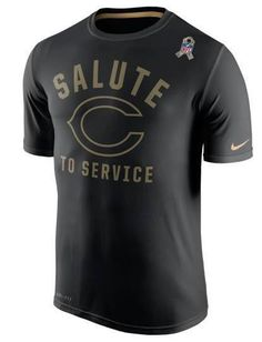 get cheap 0a986 7173b Chicago Bears Salute to Service Legend Practice Dri-FIT T-Shirt