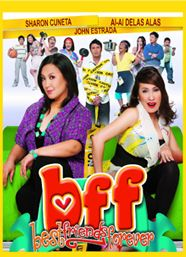 Discover 1 high-resolution movie poster of BFF: Best Friends Forever (Comedy) on MoviePosterDB. Sharon Cuneta, Pareto, Bff, Demotivational Posters, Paws And Claws, Child Actresses, Best Friends Forever, Comedians, Cheating