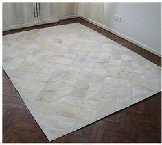 Sitting room? 4 by 6 Ft  Cowhide Patchwork Rug on Etsy, $368.00