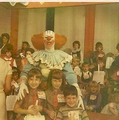 Bozo the Clown.  Used to watch this show too.  A lot of clown shows in the 1960's!