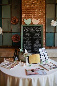 Wedding ● Reception Décor ● Welcome Table