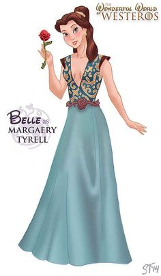 "Beauty and the Beast | Disney Princesses As ""Game Of Thrones"" Characters"