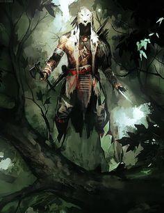 Assassin's Creed III Concept Art - Ratonhnhaké:ton