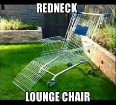 Redneck Lounge Chair