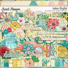 Digital Scrapbooking - Take Flight by Amber Shaw & Libby Pritchett
