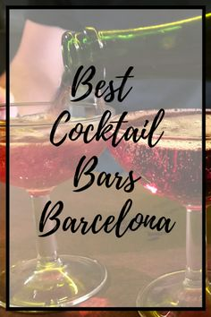 Enjoy some of the best cocktail bars in Barcelona from our post. You'll be spoiled for choice from swanky hotspots to mysterious taverns! It's time to get your cocktail on! Spain Honeymoon, Spanish Cuisine, Spanish Food, Best Cocktail Bars, Spanish Culture, Spain Holidays, Barcelona Travel, Fun Cocktails, Best Places To Eat