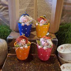 Art Doll - Fantasy Doll - Handmade Doll - Artistic Doll  - Flower - Doll - Collectible - Fantasy - Flower Fairy - OOAK Doll - Funny Art by Rustiikkitupa on Etsy
