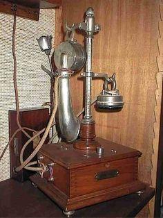 Téléphone Alfred Burgunder de 1920