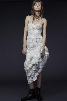 VERA WANG: Perfect for the non-traditional bride.