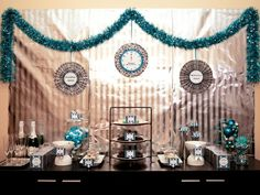 "Photo 1 of 19: Black/White/Siver/Turquoise / New Year's ""Goodbye 2012 & Welcome 2013"" 
