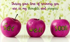 Thoughts and Prayers Get Well Soon, Ecards, Projects To Try, Prayers, Greeting Cards, Wellness, Apple, Thoughts, Cat