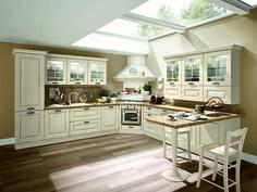 Abbinamento bianco e verde per la cucina | In the house of my ...