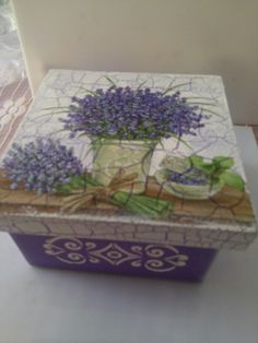 caja craquelada