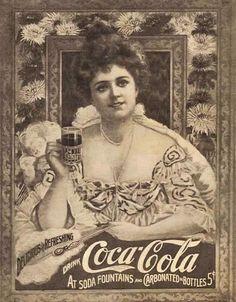 vintage Coca-Cola. so fancy.