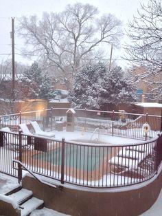 So snow!