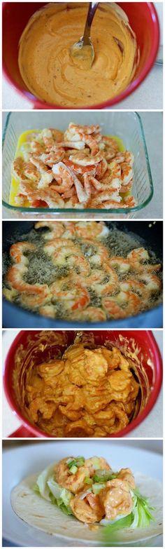 Bonefish Grill's Bang Bang Shrimp Tacos | CookJino