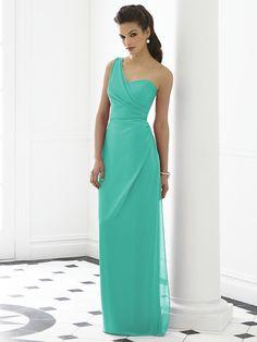 . Dessy Bridesmaid, One Shoulder Bridesmaid Dresses, Wedding Bridesmaid Dresses, Wedding Gowns, Shoulder Dress, Bridesmaid Color, Bridal Gowns, Wedding Ceremony, Green Bridesmaids