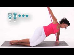Exercice 12 Tonification cuisse, épaules - Fit Band - Domyos - YouTube