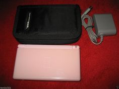 Nintendo DS Lite Pink Gaming Console (NTSC) plays DS & Game Boy Advance VG+ #Nintendo