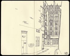 © Stuart Kerr 2010  Illustration - St Vincents Lane, Glasgow ...super cool.