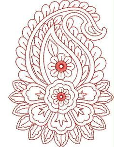Grand Sewing Embroidery Designs At Home Ideas. Beauteous Finished Sewing Embroidery Designs At Home Ideas. Learn Embroidery, Silk Ribbon Embroidery, Hand Embroidery Patterns, Embroidery Stitches, Machine Embroidery, Indian Embroidery, Zardozi Embroidery, Red Work Embroidery, Paisley Embroidery