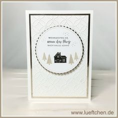 Stampin Up - Hearts Come Home Create Christmas Cards, Christmas Card Crafts, Stampin Up Christmas, Christmas Paper, Xmas Cards, Handmade Christmas, Christmas 2019, White Christmas, Stampin Up Weihnachten