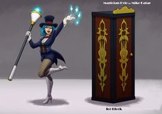 Magician Evie by Mike Katar