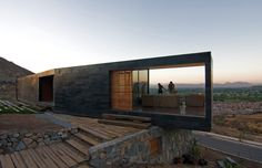 Binimelis-Barahona House  Architects: Polidura Talhouk Arquitectos Location: Chicureo, Colina, Santiago Metropolitan Region, Chile Project Architects: Antonio Polidura, Marco Polidura, Pablo Talhouk Structures: Daniel Stagno Project Area: 260 sqm Project Year: 2007 Photography: Aryeh Kornfeld