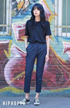 30 Stylish Chic Style Streetwear Outfits That Are Stunningly Awesome - Page 3 of 3 - Style O Check Korean Street Fashion, Asian Fashion, Look Fashion, Teen Fashion, Fashion Outfits, Casual Chic Outfits, Korean Casual Outfits, Trendy Outfits, Pinterest Fashion