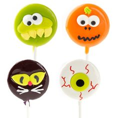Halloween Lil'Pops - 4 Pack $10.99