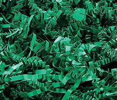 Custom /& Unique {1 Pounds} of Light Green ZigZag Crinkle Cut Bright Springtime Blossom Natural Grass Style Shredded Gift Basket Filler Paper