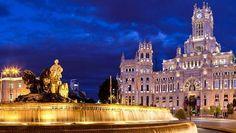 La belleza oculta del Madrid nocturno