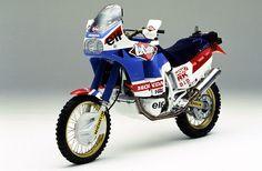 Una delle moto storiche della #Dakar: la #Honda #NXR 750 di Cyril #Neveu del 1988