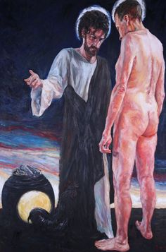 Rob Floyd Fine Art - Stations of the Resurrection, 10. Christ Restores Peter